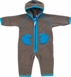 Molo Fleece snowsuit Fjord Blue (Unity)