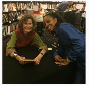 Nat Lue with Judy Blume