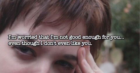 Are you worried about being 'good enough' for something you don't want or are not even doing?
