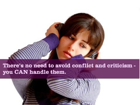 Learning How To Deal With Criticism & Conflict For Improved Self-Esteem & Relationships