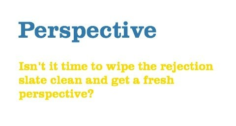 Perspective - Isn't it time to get a fresh one?