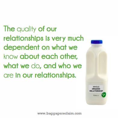 The Quality of Our Relationships *Matter*. Forget Forced, Go Organic
