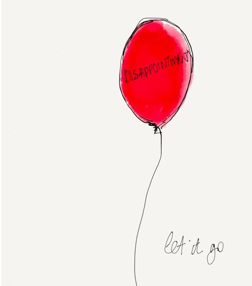 let it go - disappointment balloon