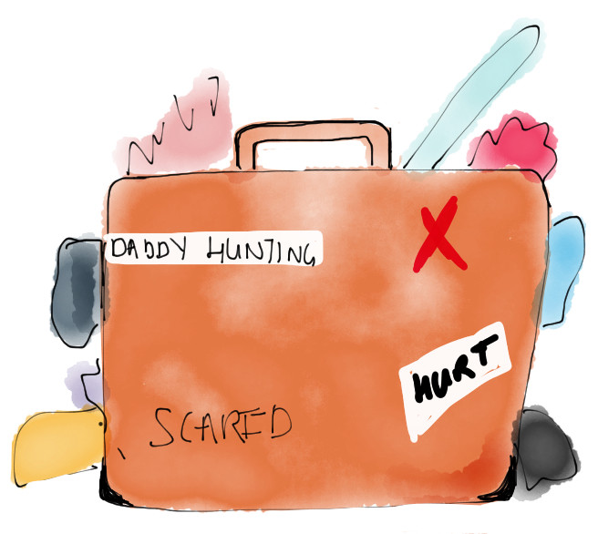 Carting excess baggage around puts the past on repeat. Offload, repack, reclaim.