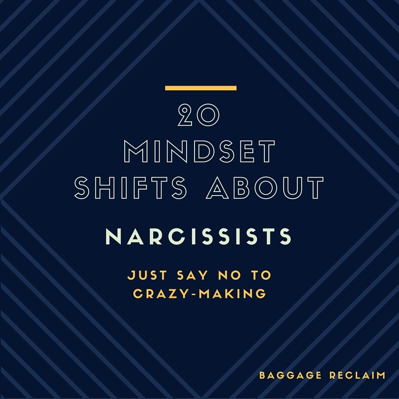 20 TIPS ABOUT NARCISSISTS