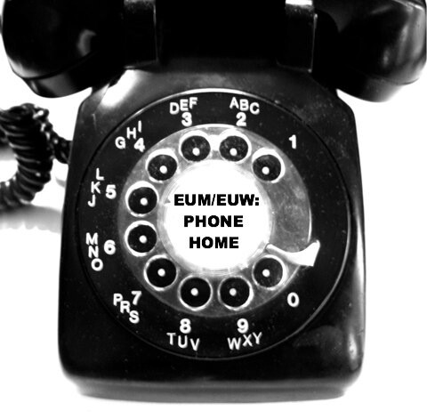 rotary telephone - Mr Unavailable/Miss Unavailable Phone Home