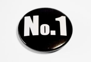 NO1 badge