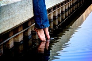dipping toes into the water