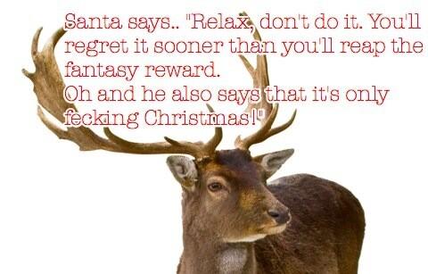 Santa says..
