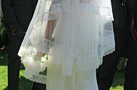 my wedding veil