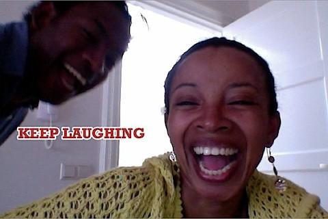 NAT BAGGAGE RECLAIM 'KEEP LAUGHING'