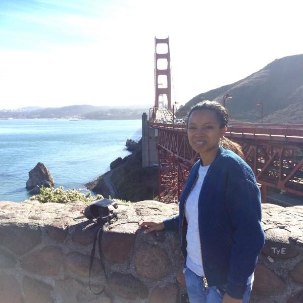 Nat Lue in San Francisco at The Golden Gate Bridge