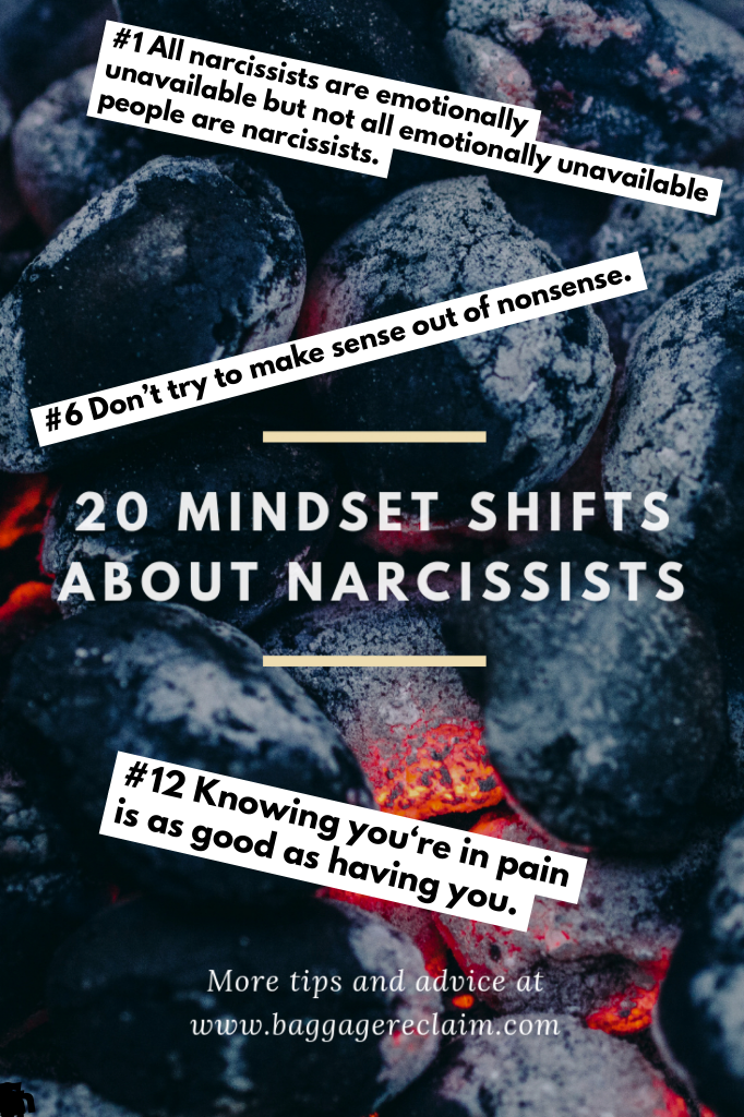 We Need To Talk About Narcissists 20 Mindset Shifts To Help You