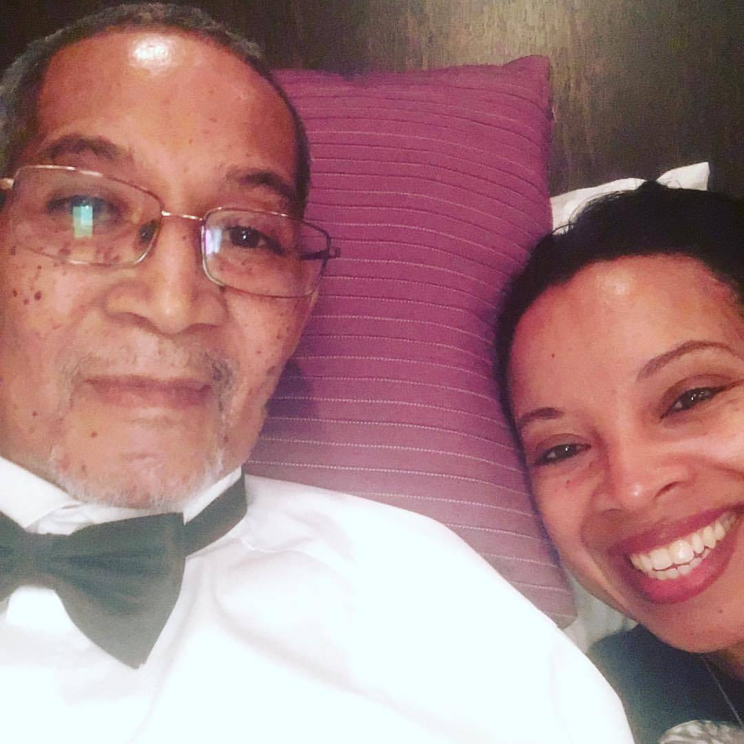 Nat Lue and her dad