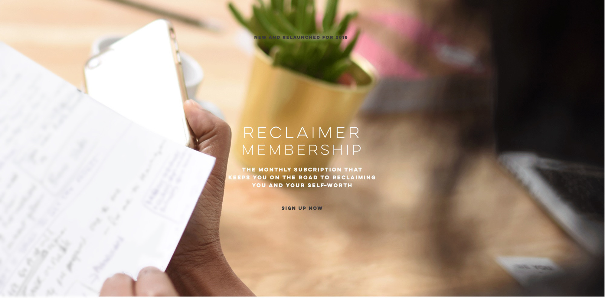 Reclaimer Membership - find out more