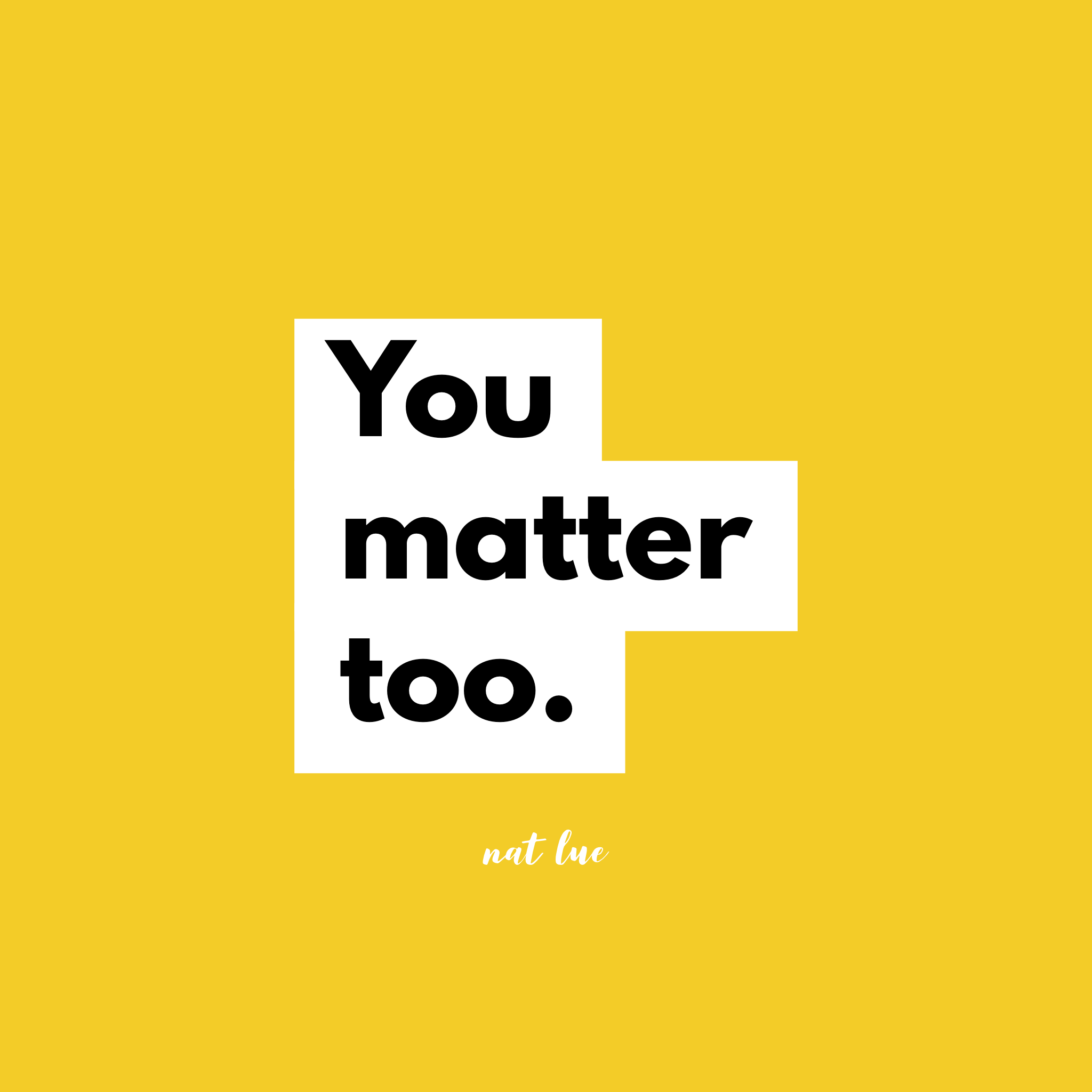Podcast Ep.111: Protecting & nurturing your mental health means remembering that you matter too